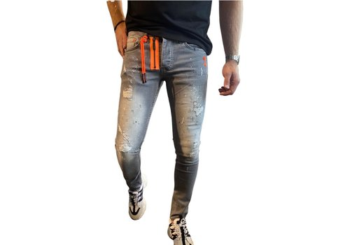 Get Well Icon Jeans 9706 Grey