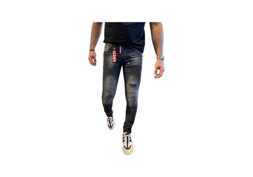 Get Well Icon Jeans 9735 Black