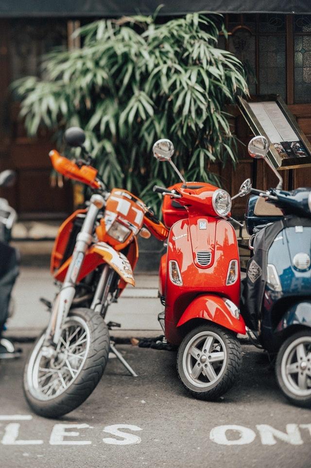 Verschillende soorten scootersloten