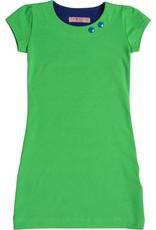 Jurk 'Basic' met korte mouw Groen