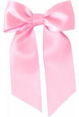 Drukkerapplicatie Grote strik, licht roze