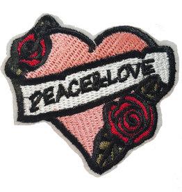 Patch Hart Peace-Love