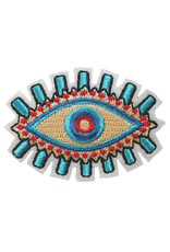 Patch Oog Rood-blauw