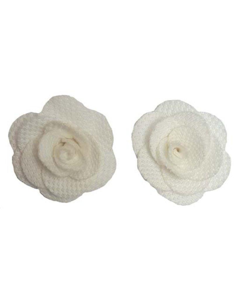 Kleine bloemen Wit