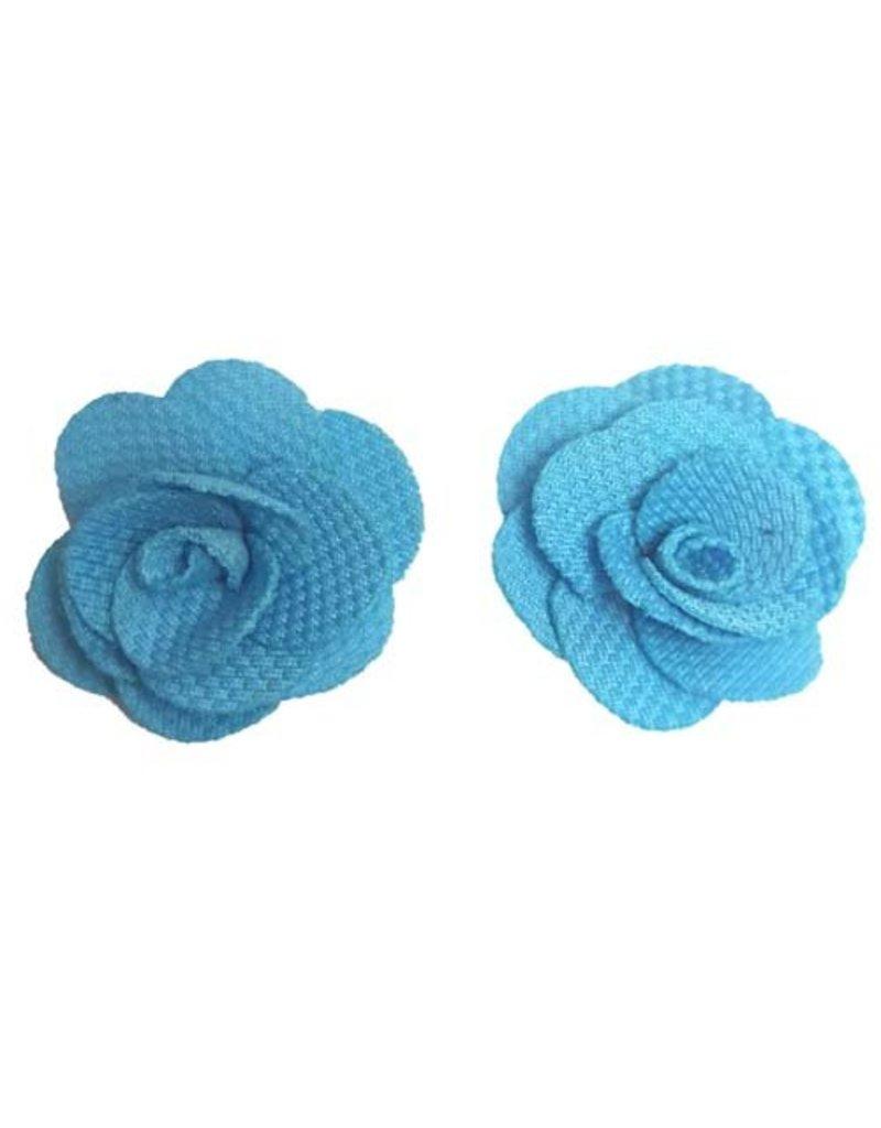 Kleine bloemen Blauw
