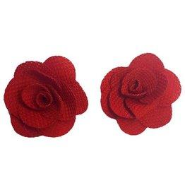 Kleine bloemen Rood