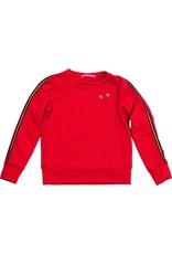 Sweater met lange mouw rood, maat 98/104