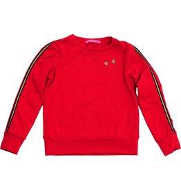 Sweater rood, laatste maat 98/104
