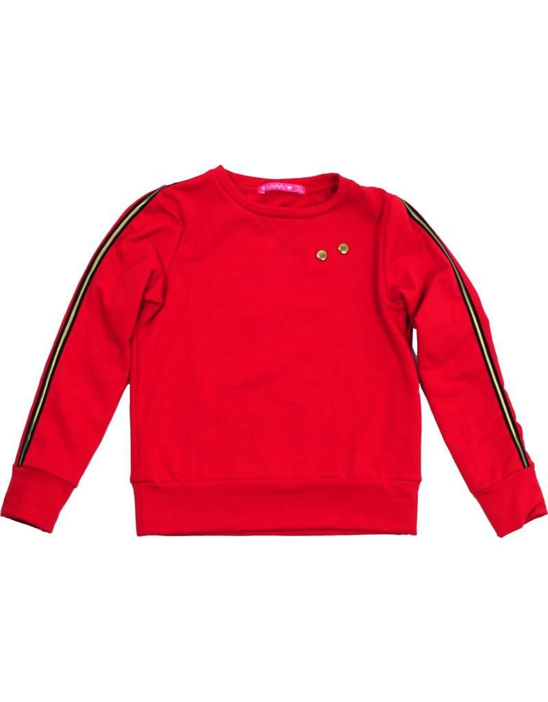 Sweater met lange mouw rood