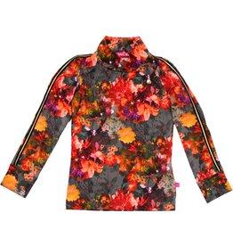 Shirt 'Turtleneck' bloemen, 86/92, 98/104