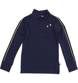 Shirt 'Turtleneck' lange mouw navy, laatste maat 98/104