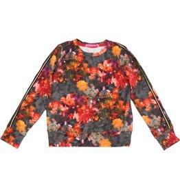 Sweater met bloemen, laatste 98/104