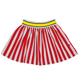 Rok rood/wit, 86/92, 98/104, 110/116