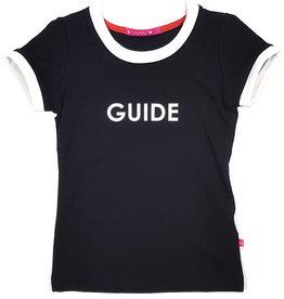 T-shirt met tekst, zwart, 86/92, 110/116