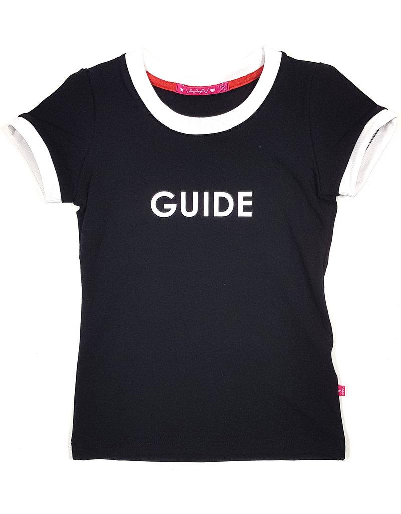 T-shirt met tekst, zwart