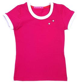 T-shirt met drukkers, roze, 86/92, 110/116, 146/152