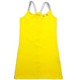 Jurk 'Hemd' geel, 98/104, 110/116