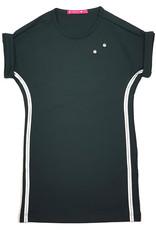 Jurk 'T-shirtdress' groen, laatste maat 98/104