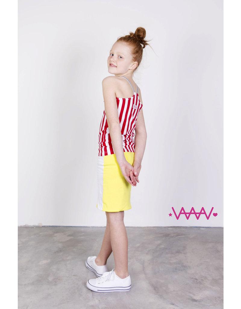 Hemd rood/wit