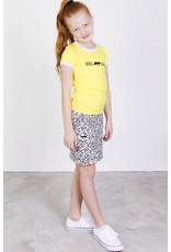 T-shirt met tekst, geel, laatste maat 86/92