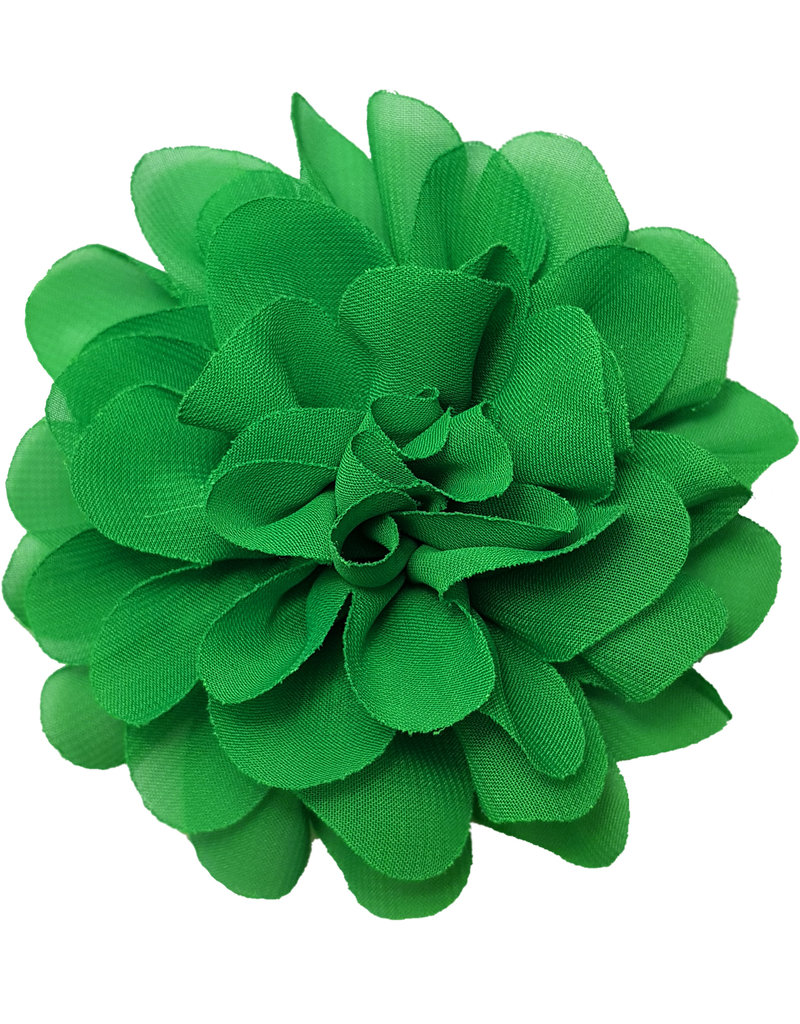 Voile bloem groen
