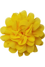 Voile bloem geel