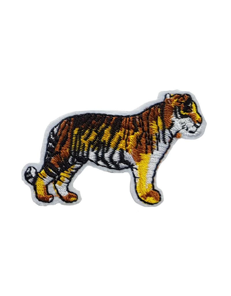 Patch tijger staand