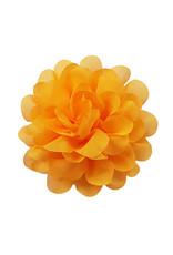 Voile bloem oranjegeel