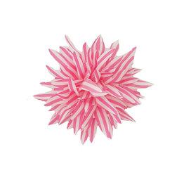 Haarclip roze wit