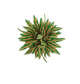 Haarclip geel groen