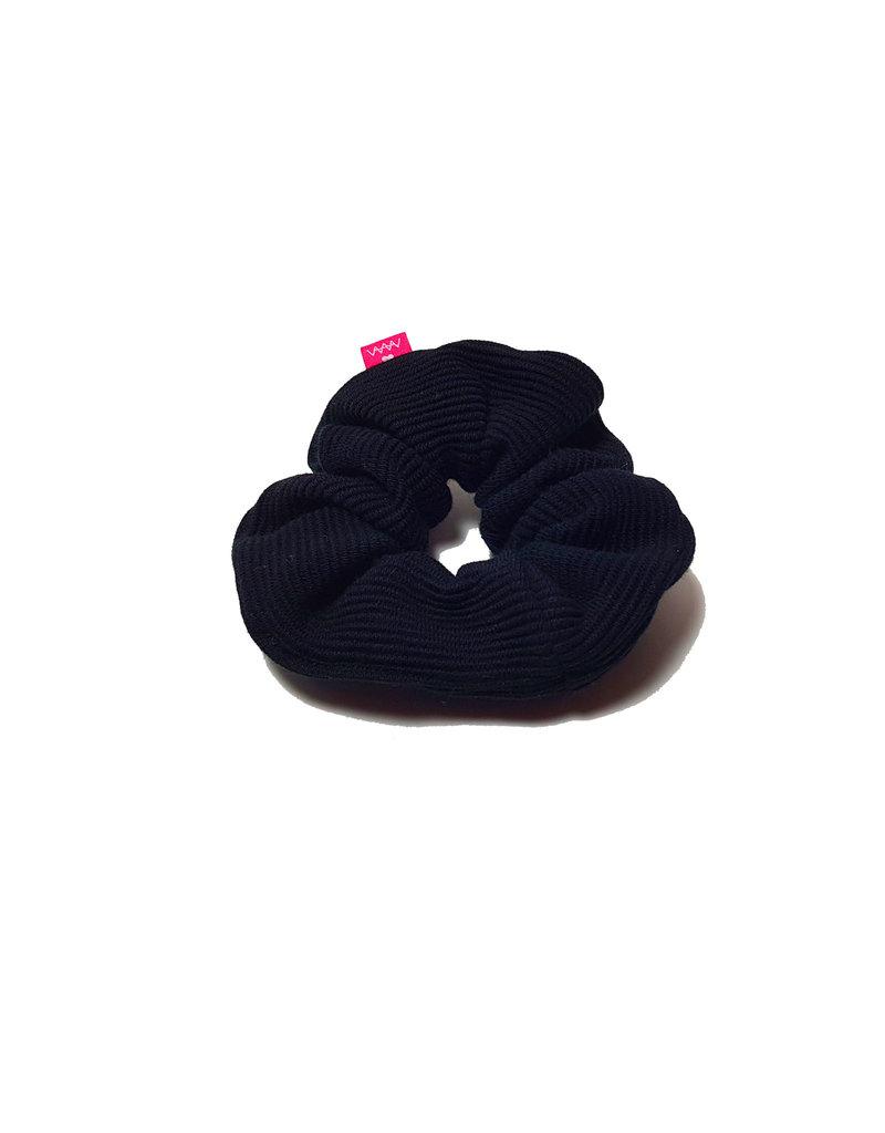 Scrunchie Rib Zwart