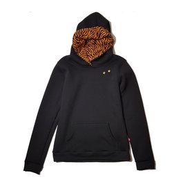 Hoodie Zwart t/m 176