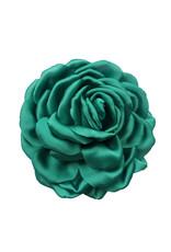 Zijden bloem turquoise