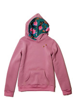 Hoodie Oudroze
