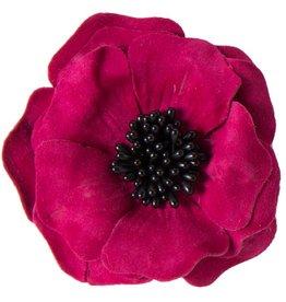 Suede bloem (10 cm)