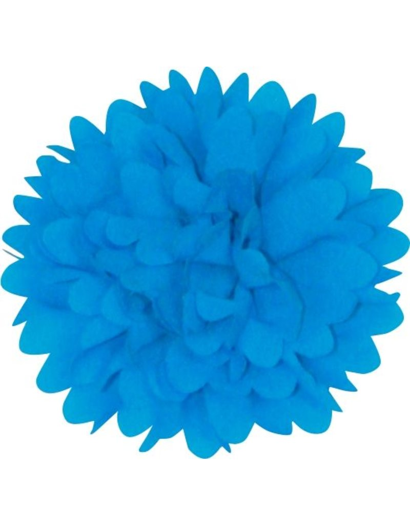 Drukkerapplicatie Dahlia, blauw