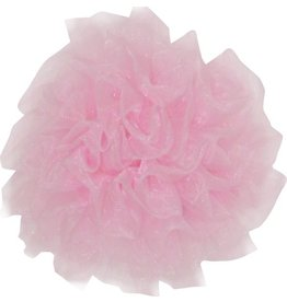 Drukkerapplicatie Tule bloem, roze