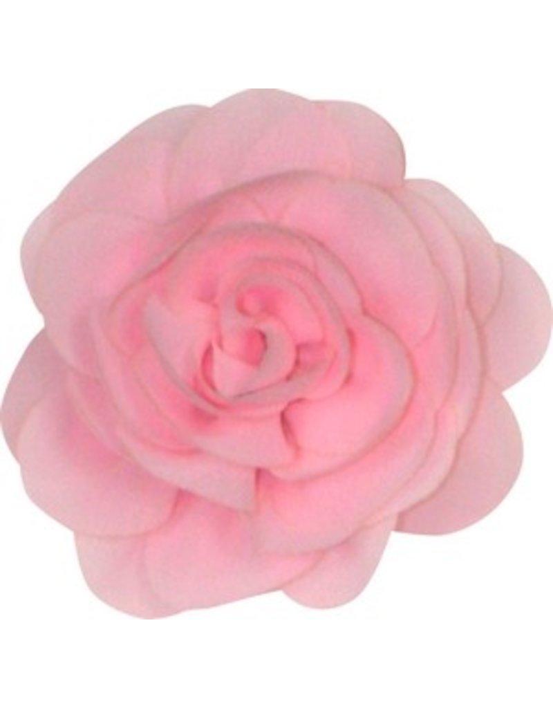 Drukkerapplicatie Voile roos, licht roze