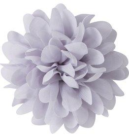 Voile bloem, grijs