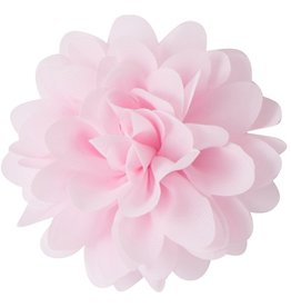 Voile bloem, licht roze