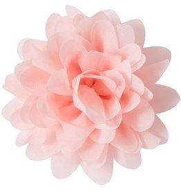 Voile bloem, zalm roze