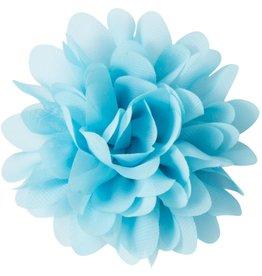 Voile bloem, lichtblauw