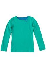 Shirt 'Basic' met lange mouw Groen