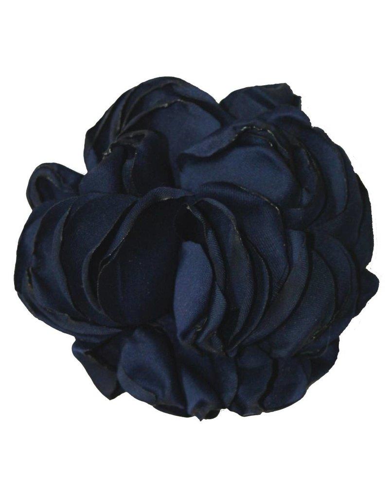 Drukkerapplicatie winterroos donkerblauw