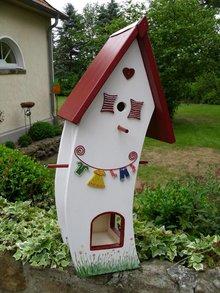 Handgemaakte en handgeschilderde Vogelvoederhuizen! Bird Feeder House Inn Stuives