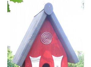 Handgemaakte en handgeschilderde Vogelvoederhuizen! Vogelvoederhuis Lunchhome