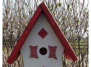 Handgemaakte en handgeschilderde Vogelhuizen! Vogelhuis Comfortable