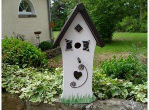Handgemaakte en handgeschilderde Vogelhuizen! Vogelhuis Spik en Span