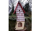 Handgemaakte en handgeschilderde Vogelvoederhuizen! Vogelvoederhuis Echt Vakwerk