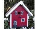 "Handgemaakte en handgeschilderde Vogelhuizen! Birdhouse ""Holiday Inn"" hand painted and handmade"
